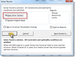 Excel Solver Found a Solution for GARCH(1,1) calibration